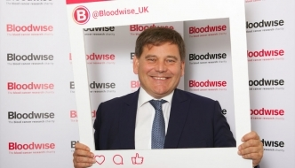 Andrew promoting blood cancer campaign